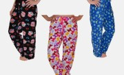 4-Pack Ladies' Assorted Pajama Pants